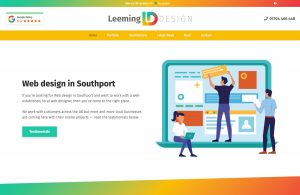 Website design in Southport